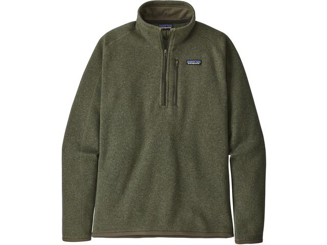 Patagonia Better Sweater 1/4 Zip Men, verde